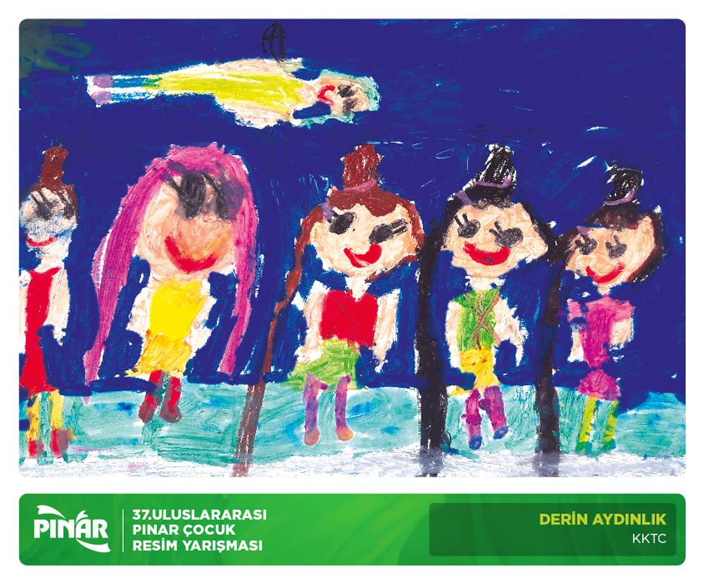 36.Uluslararası Pınar Çocuk Resim Yarışması Başladı