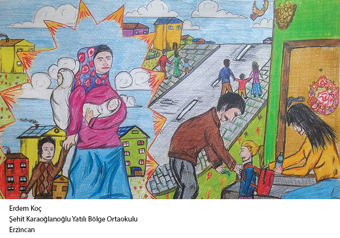 Çanakkale'de Çocuklar için Barış Atölyeleri