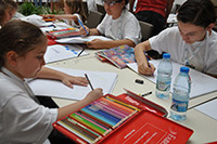 Pictures from the Pınar Painting Contest 2014