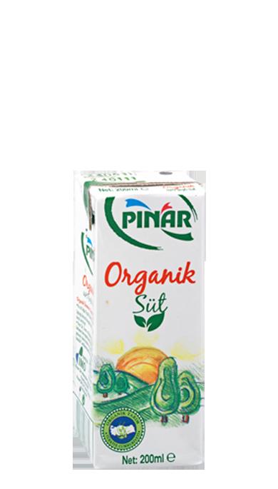 Pınar Organik Süt 200 ml